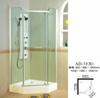 Vidro do quarto de chuveiro, vidro curvado (YBC006)