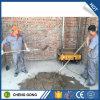 Parete verificata del gesso del mortaio del cemento del fornitore che intonaca la macchina della rappresentazione della parete