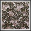 花によって刺繍されるレースの網の刺繍のレースのテュルの刺繍のレース