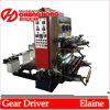 Twee Machine van de Druk Flexo van de Kleur pp de niet Geweven (CH882)