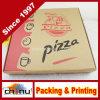 Rectángulo impreso aduana de la pizza (1321)