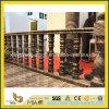 Baluster de madeira preto chinês dos trilhos & da escada do mármore da veia
