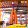 ショー(AQ59158)のために膨脹可能な空気ダンサーを広告する道化師の形