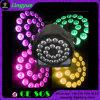 PARIDADE 24X12 do diodo emissor de luz do disco RGBW 4in1 do equipamento DMX do estágio