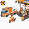 Stadt Sries Eil-LKW blockt Spielzeug für Kinder