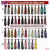 Laços impressos da gravata da escola dos casamentos do laço da garganta laços elásticos (B8147)