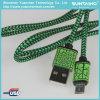 인조 인간을%s 땋는 USB 빠른 충전기 케이블