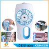 Usb-nachladbarer Ventilator-Schönheits-Befeuchter-Nebel-Wasser-Spray-Klimaanlagen-Handventilator