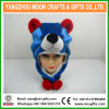 Chine Wholesale Custom Earflap Winter Faux Fur Mixed Color Pelush Animal Hat