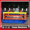 Mattonelle di tetto automatiche piene della piattaforma di pavimento che fanno rullo che forma macchina
