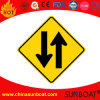 Panneau d'affichage émaillé à l'émail Panneau d'affichage de signalisation de circulation d'émail