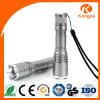 Факел наивысшей мощности алюминиевый перезаряжаемые портативный для электрофонаря батареи 9V