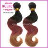 Capelli 8 di Quercy  - 32  tessuto brasiliano dei capelli dell'onda del corpo di colore di Omber di colore dei capelli 3 di Remy del Virgin