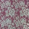 GarmentsのためのMesh Lace FabricのきれいなDesign Embroidery
