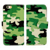 Plutônio verde Caso de Camouflage Leather Caso para Mobile/Cell Phone