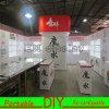 Soporte de visualización de aluminio de encargo de la exposición de la feria profesional del Portable DIY
