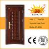低価格、表玄関デザイン(SC-S132)の中国の鋼鉄ドア