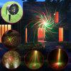 Illuminazione della fase di illuminazione di natale delle luci laser del laser della testa commovente mini