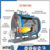Caldera de agua caliente encendida carbón de la presión inferior de la fabricación de China 58MW 1.6MPa