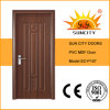 Finishing와 Swing 지상 Open Style Toilet PVC Door (SC-P107)