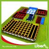 Corte interna comercial do Trampoline de Liben grande Salão