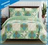 型国によって印刷されるポリエステルパッチワーク様式のベッドカバーセット