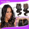 Corpo Wave Hair cambogiano Silk Top Lace Closures con Highquality