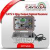 Ricevente di fibra ottica prodotta modo esterno di controllo CATV 2 di Agc di rendimento elevato