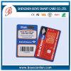 Cartes futées sans contact en plastique faites sur commande de RFID préimprimées par Cmyk