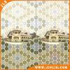 Mattonelle di ceramica della parete del mosaico della stanza da bagno impermeabile esagonale di sembrare