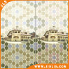 Mosaico Hexagonal Mirar A Prueba De Agua Azulejo De Pared De Cerámica De Baño