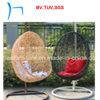 F - Cadeira ao ar livre do balanço do ovo do Rattan da mobília do pátio (CF1033H)