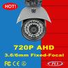 caméra vidéo de degré de sécurité de télévision en circuit fermé d'infrarouge de 1MP Ahd 30m