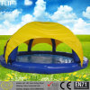 Metal Frame Playground Inflatable Above Ground Pool