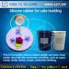 RTV Liquid Additon Silicone Rubber für Cake Mold
