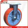 4 Inch bis 6 Inch Polyurethane auf Polypropylene Fixed Caster