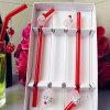 Adattamento di sostegno! Cannuccia di vetro Handmade degli articoli per la tavola di cerimonia nuziale della festa di compleanno