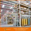 Memoria Blue e Orange Foldable Stackable Pallet Racking