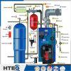De horizontale In brand gestoken Boiler van Hoge Efficiency 85%-95% van het Type Hout