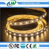 Indicatore luminoso di striscia flessibile caldo 60LED di bianco 3528 con il cc & RoHS certificato