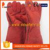 De rode Handschoenen van het Lassen van de Koe Gespleten (DLW619)