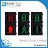 Semáforo peatonal con el temporizador de la cuenta descendiente del LED