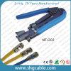 Strumento di compressione del cavo coassiale Rg59 RG6 Rg11 di professione (NT-CC2)