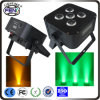 Hete New LED Lights 5PCS 6in1 RGBWA+UV LEDs Party Lights
