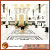 Sale caliente Perlino Bianco Marble Wall Tile para Hotel/Commercial Decoration