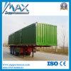El vehículo comercial de China, 3 árboles utilizó la venta Small Van Semi Trailer