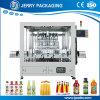 Machine de remplissage liquide de jus de fruits de bouteille d'animal familier ou de bouteille en verre
