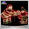 Nuovo indicatore luminoso popolare chiaro della decorazione del Babbo Natale dell'indicatore luminoso di natale di festa LED