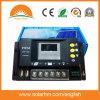 regulador de la energía solar de 48V30A PWM con la pantalla del LED