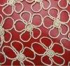 Chantilly Fabric Eau-soluble Lace pour Dress et Home Textile (S8006)